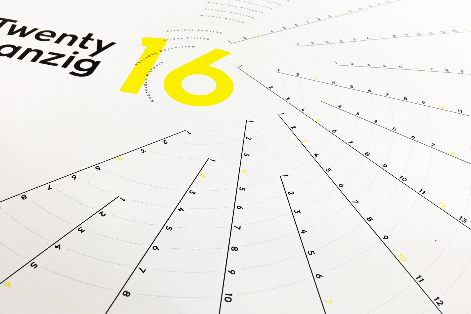 Skyscraper J Calendar 2016 Perspective