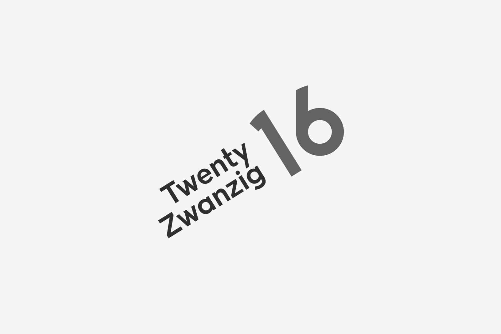 Logo Twenty 16 Bw