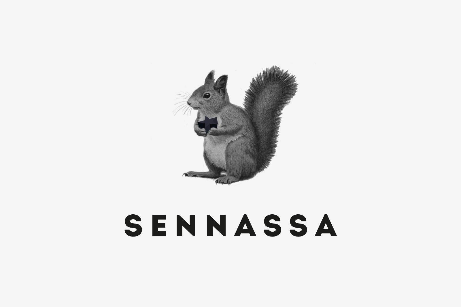 Logo Sennassa Bw