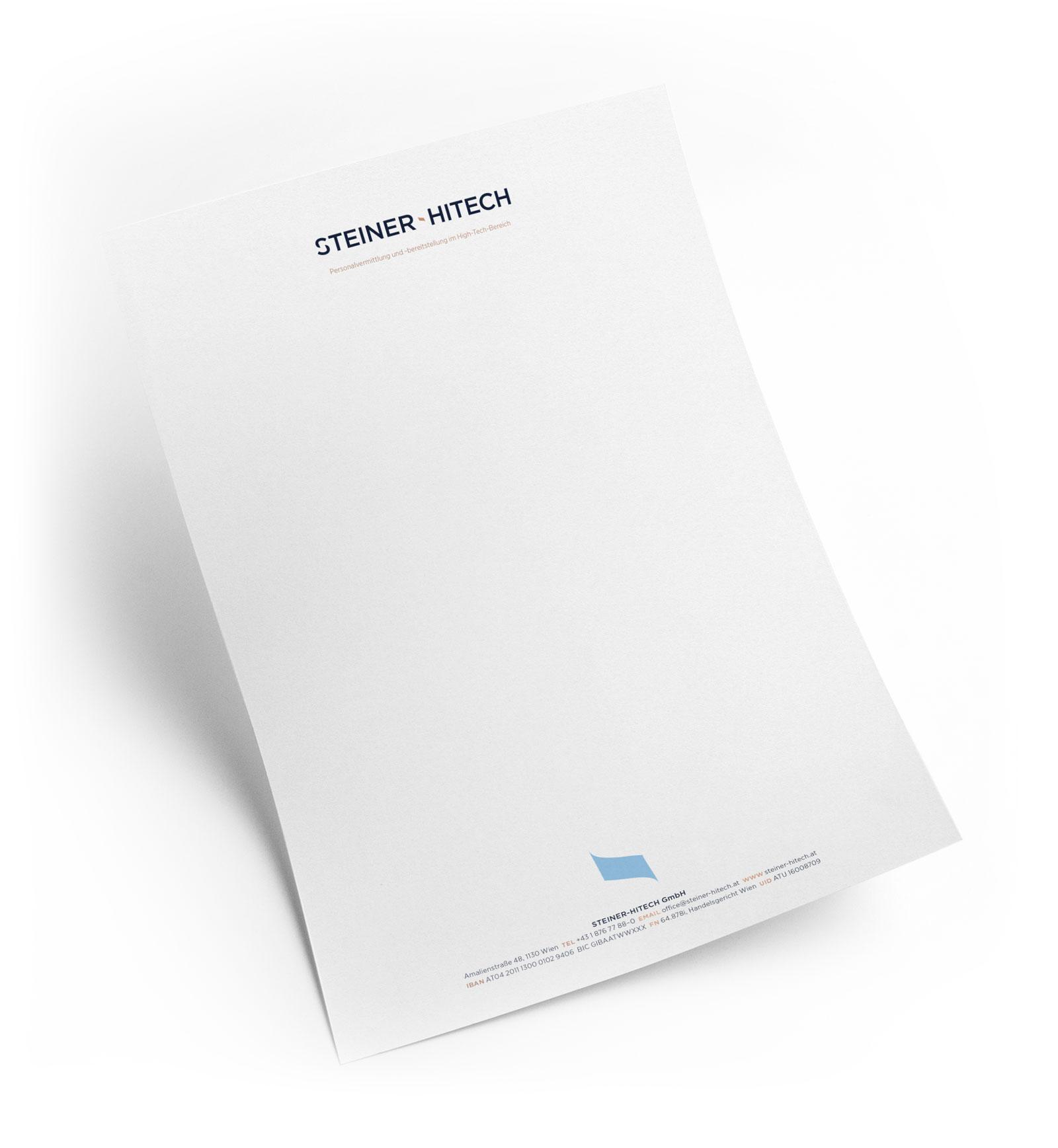 Steiner Hitech Letter 1