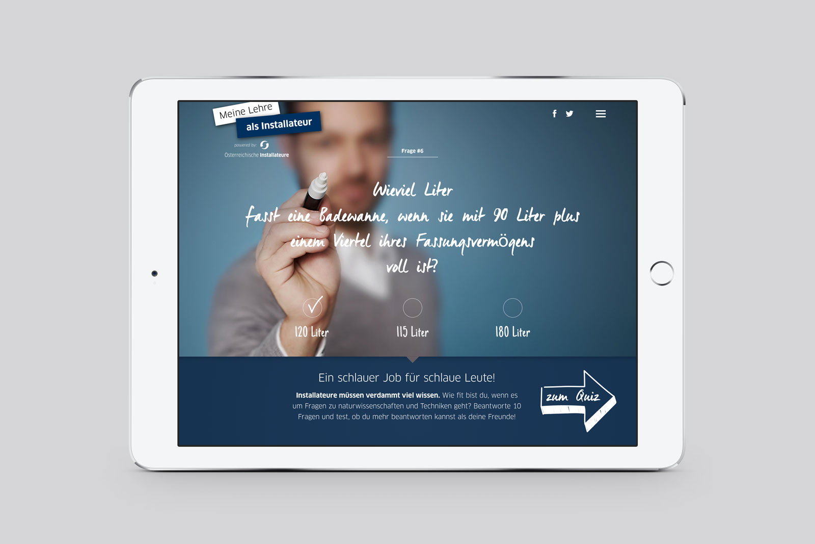 Die Installateure I Pad 02